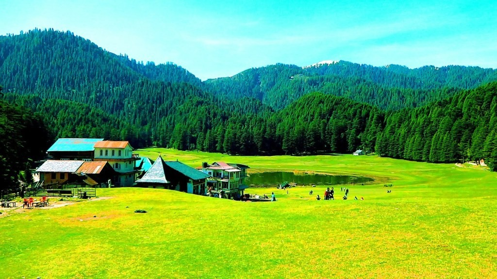 Khajjiar Lake and Ground