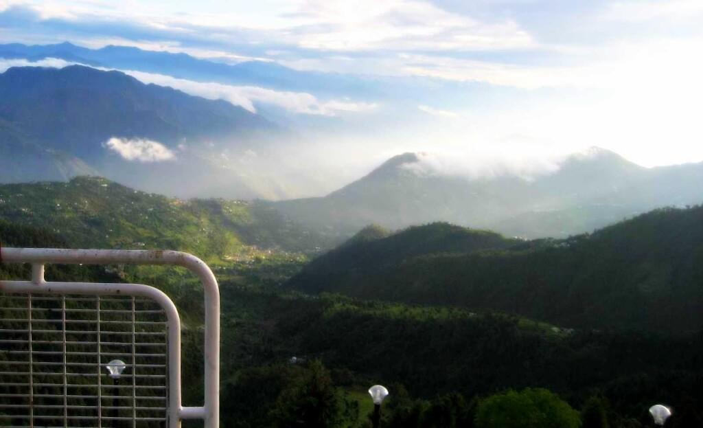 View of Pir Panjal Range Dalhousie